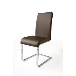 LOTTE krzesło tapicerowane na płozie