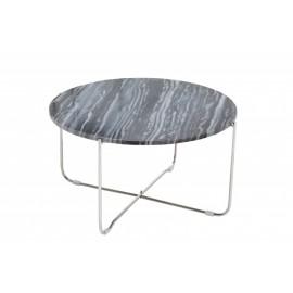 INVICTA stolik NOBLE srebrny