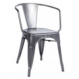 Krzesło TOWER ARM (Paris Arms) metaliczne - metal