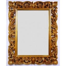Lustro złota rama 75x95 GLAMOUR