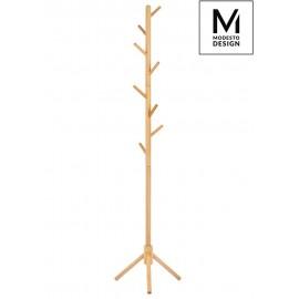 MODESTO wieszak stojący STICK naturalny - drewno bukowe
