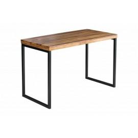 INVICTA biurko ELEMENTS Sheesham - lite drewno palisander metal
