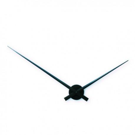 NeXtime Hands Black Silver zegar ścienny 2269zi