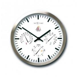 NeXtime Weatherstation zegar ścienny i stacja pogodowa