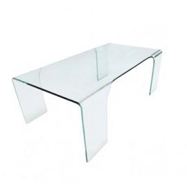 Stolik szklany GUSTO transparentny - szkło