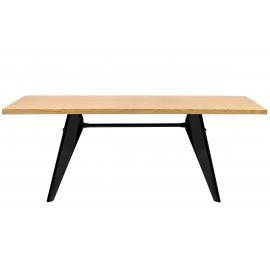 Stół JOSEF natural - drewno metal
