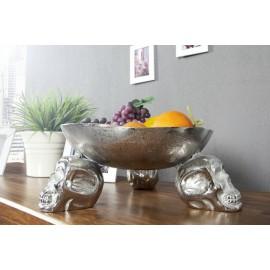 INVICTA misa SKULL 35 cm srebrna