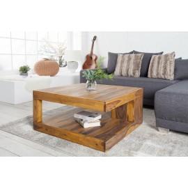 INVICTA stolik GIANT L 80 cm sheesham - lite drewno palisander