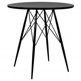 Stół JACK DSW czarny - polipropylen metal