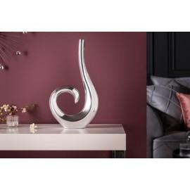 INVICTA wazon WAVE srebrny - aluminium