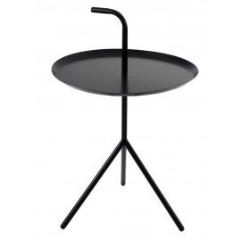 Stolik BLANCO czarny - metal