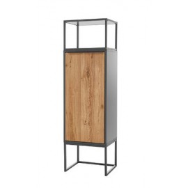 Elegancka wysoka szafka ASMARA 2 drzwi
