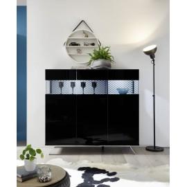 Elegancka komoda Glamour -3 drzwi włoskie meble