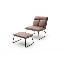 Wygodny fotel relaksacyjny ZENICA do salonu
