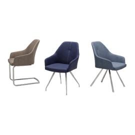 Krzesło MADITA A 3 rodzaje stelaża