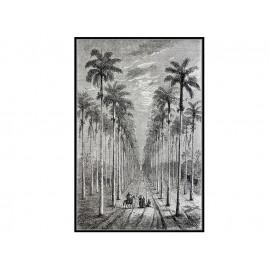 Czarno biały obraz z pejzażem 82,6x122,6 cm L0327