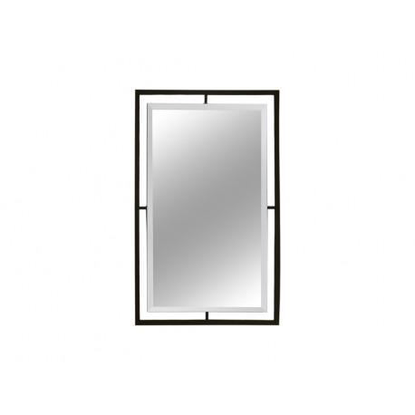 Lustro w czarnej matowej oprawie 60x90 cm LW6853